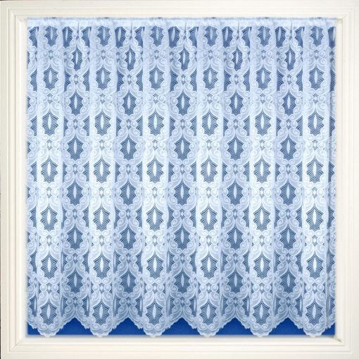 Verona - White Net Curtains
