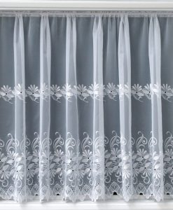 Simone - White Net Curtains