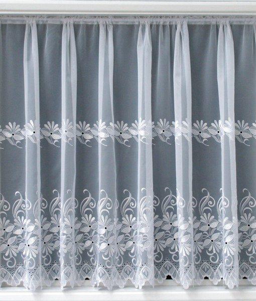 Simone - White Net Curtains