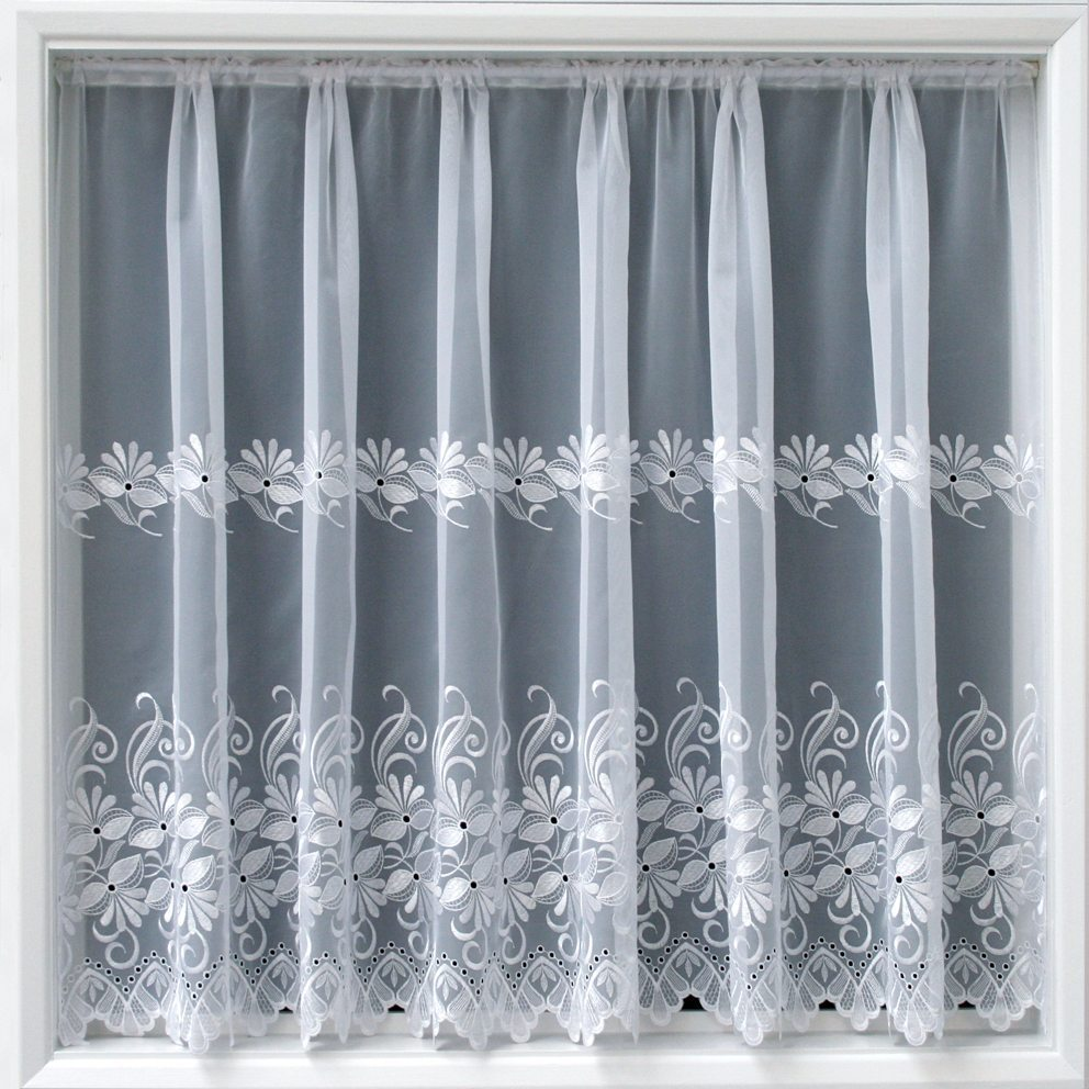 Simone White Net Net Curtains