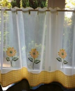 Sunflower - Cafe Net Curtains