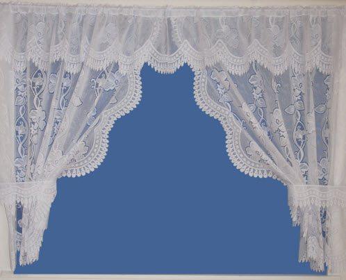 Amelia - Tie Back Set - Net Curtains