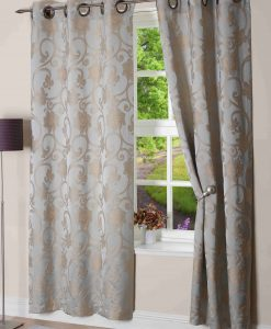 Hanover Ready Made Curtains Aqua