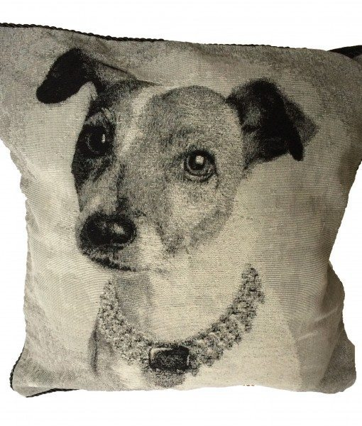 Jack Russell - Tapestry Cushion Cover