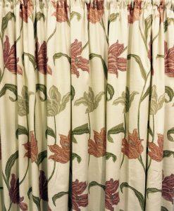 Kinsale Terracotta Ready Made Curtains