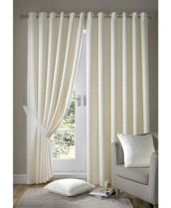 Madison - Cream Ready Made Curtains