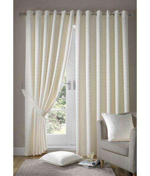Madison - Cream Ready Made Curtains