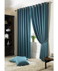 Madison - Teal Ready Made Curtains