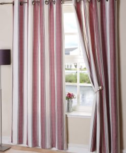 New York - Ready Made Curtains Wine