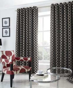 OH - Black Ready Made Curtains