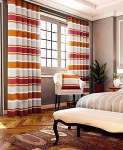 Pimlico - Orange Ready Made Curtains
