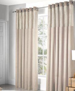 Savoy - Cream Ready Made Curtains