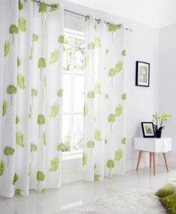 Tuscany - Lime Green Ready Made Curtains