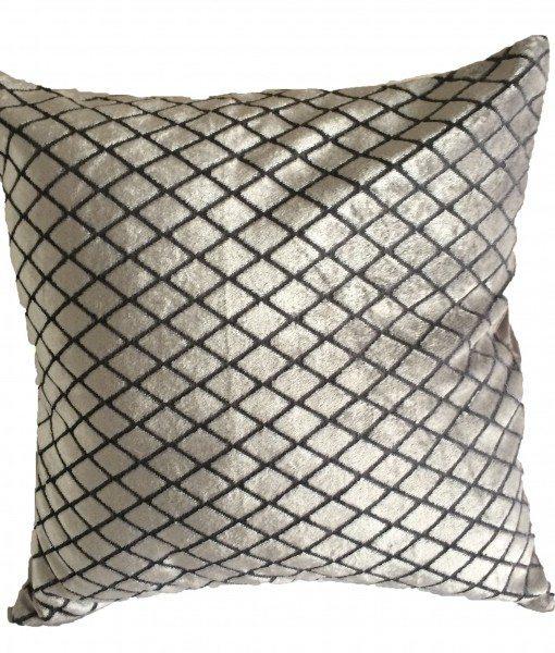 Savoy - Silver Cushion Covers