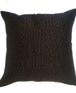 Soda - Black Cushion Covers