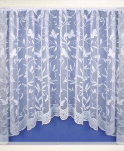 Hawaii - White Jardiniere Net Curtains