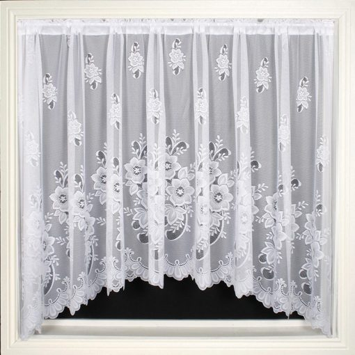New York - White Jardiniere Net Curtains
