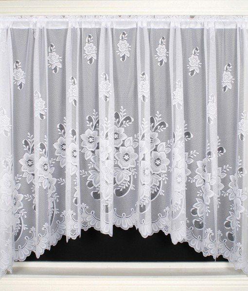 New York - White Jardiniere Net Curtains