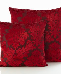 Downton - Red Cushion Covers