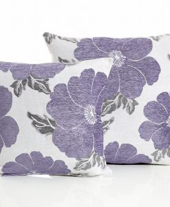 Poppy - Purple Cushion Covers
