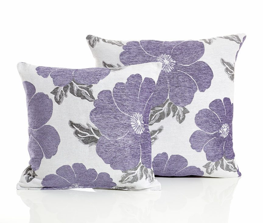 Poppy purple cushion covers dublin ireland for Sofa cushion covers ireland