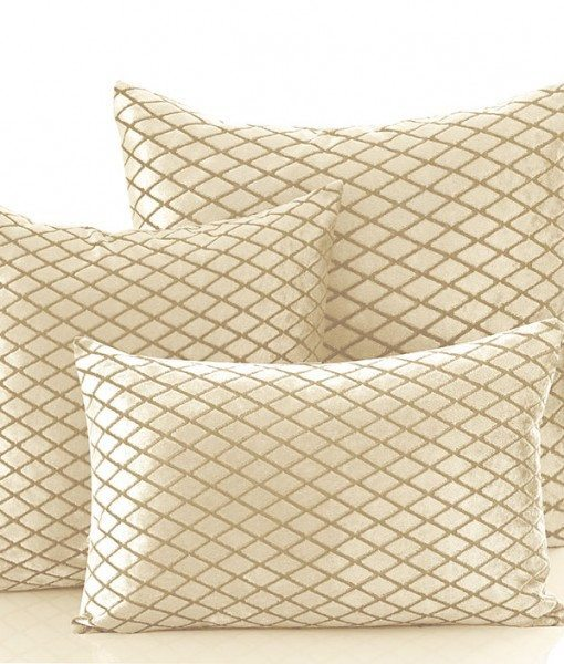 Savoy - Cream Cushion Covers