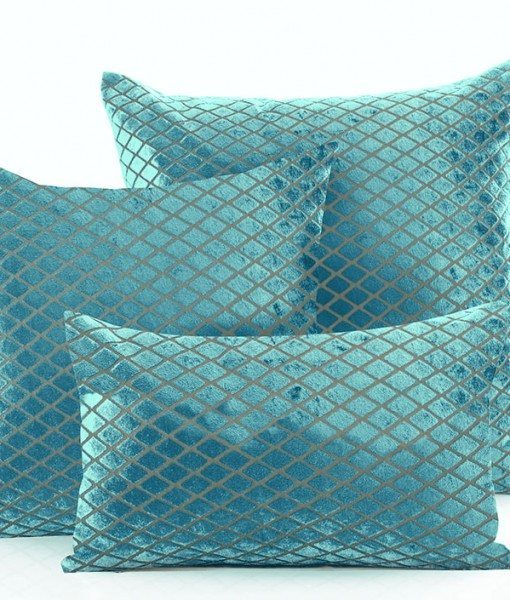 Savoy - Teal Cushion Covers