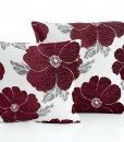 Poppy - Aubergine Cushion Covers