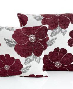Poppy - Aubergine Cushion Covers