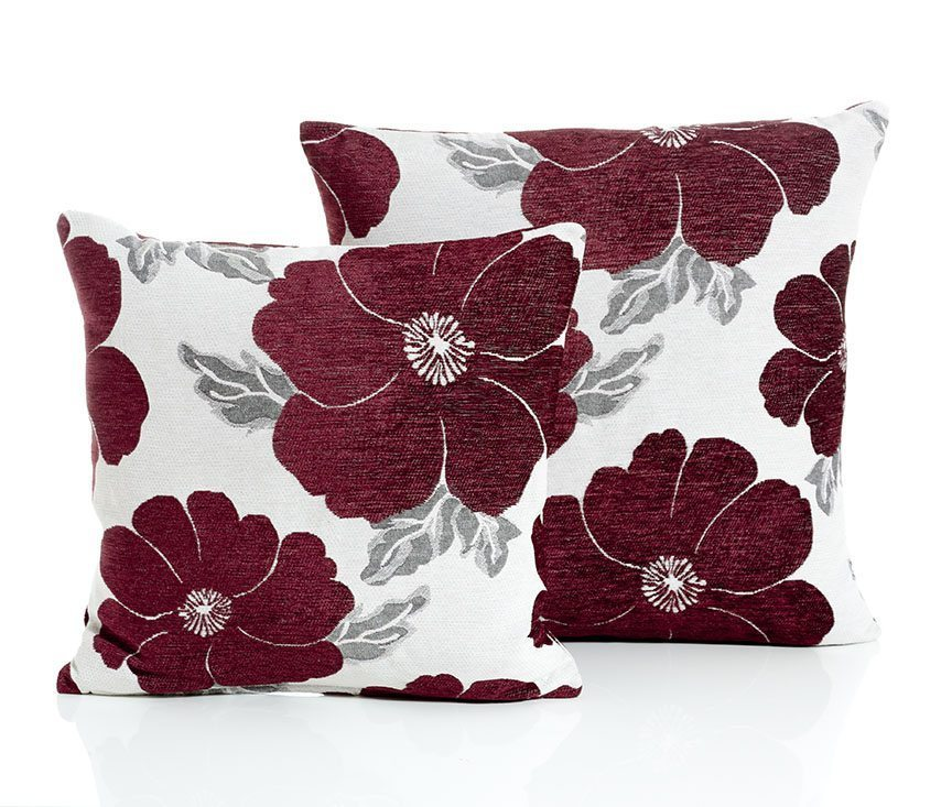 Poppy Aubergine Cushion Covers Dublin Ireland