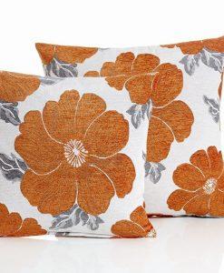 Poppy - Orange Cushion Covers