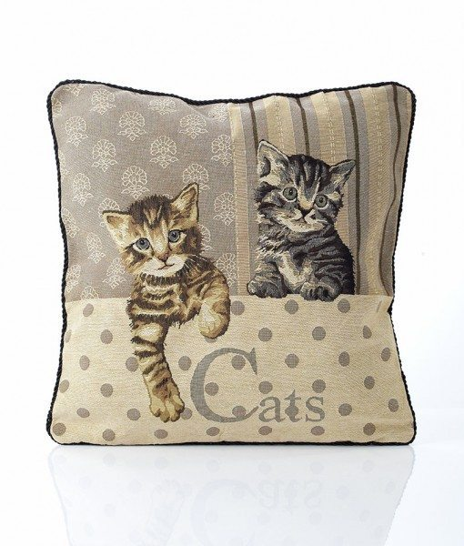 Cats - Tapestry Cushion Covers