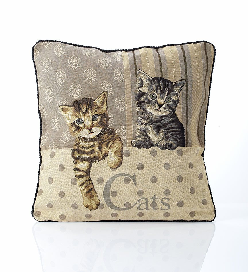 Cats tapestry cushion covers dublin ireland for Sofa cushion covers ireland
