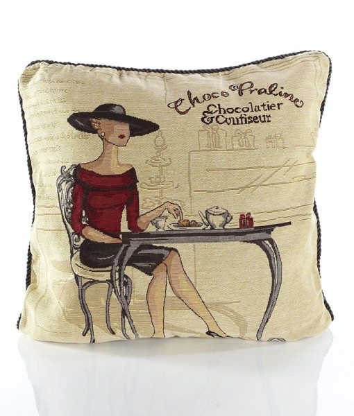 Coffee Shop - Tapestry Cushion Covers
