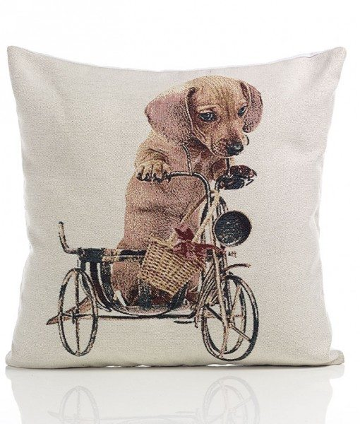 Daschund - Tapestry Cushion Covers