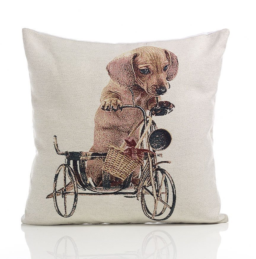 Daschund tapestry cushion covers dublin ireland for Sofa cushion covers ireland