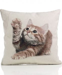 Kitten - Tapestry Cushion Covers