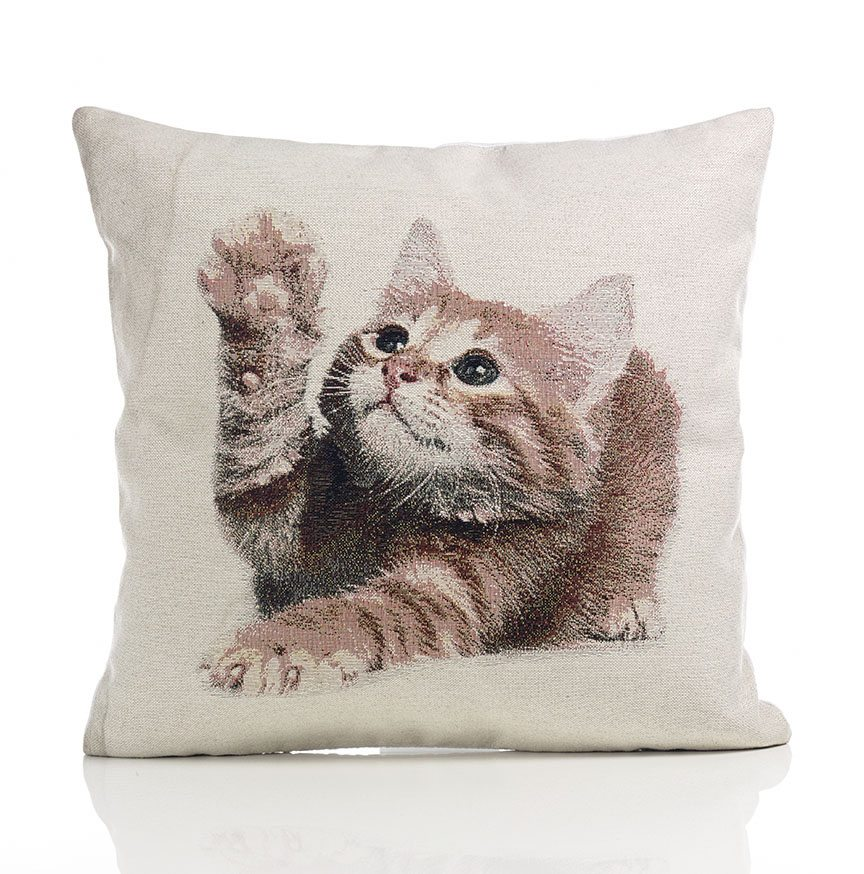Kitten tapestry cushion covers dublin ireland for Sofa cushion covers ireland
