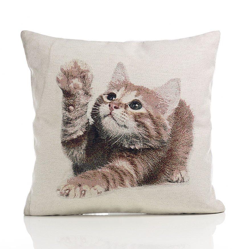 Kitten Tapestry Cushion Covers Dublin Ireland