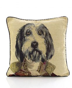 Major Puppy - Tapestry Cushion Covers
