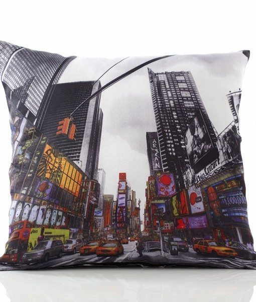 Times Square Cushion Covers