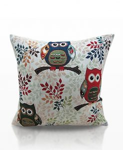 Toowit Owl - Tapestry Cushion Covers