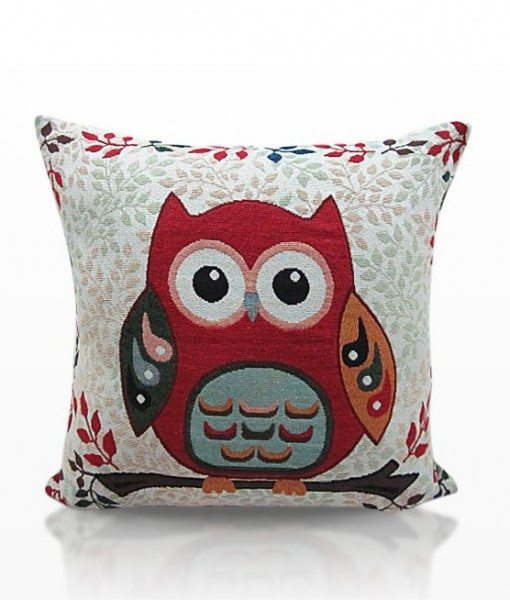 Toowoo Owl - Tapestry Cushion Covers