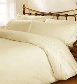 Hampton - Duvet Cover - Cream
