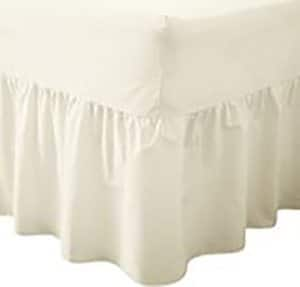 Fitted Valance - Bed Sheets - Cream