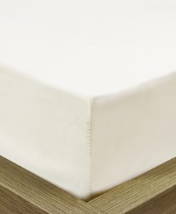 Percale - Fitted Cream - Bed Sheets