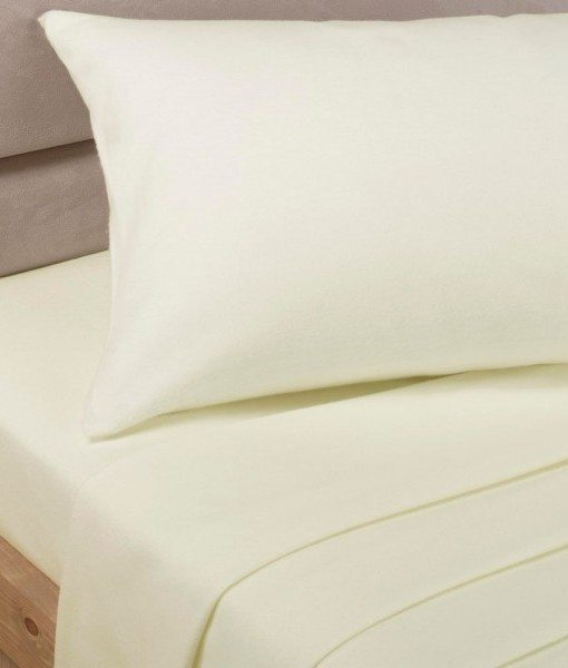 Percale - Flat Cream - Bed Sheets
