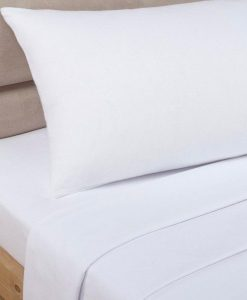 Percale - Flat White - Bed Sheets