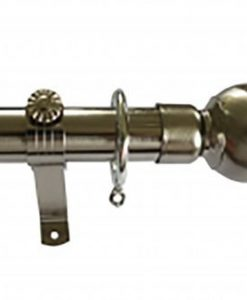 Chrome - Metal Curtain Poles