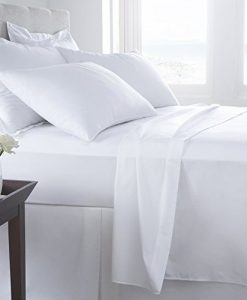 Egyption Flat - Bed Sheets - White